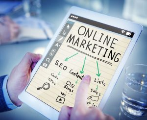 Effective online marketing attracts customers