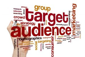 Determine your target market prior to building your website