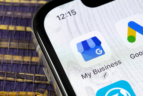Use the smartphone Google My Business app to monitor the performance of your GMB listing