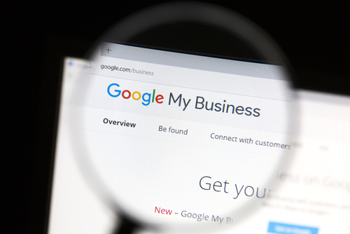 A Google My Business listing is one of the first results displayed in a local business search